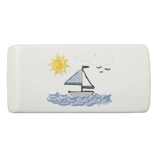 Animated Sailboat Eraser