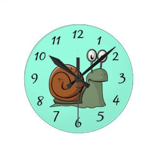 Animated Snail Clock