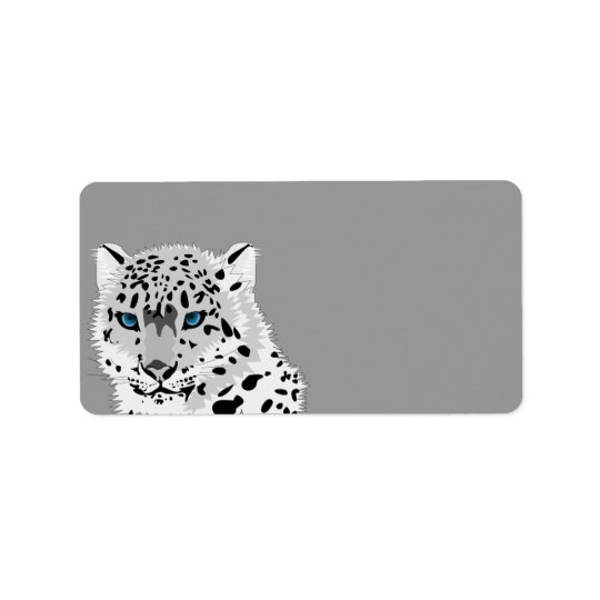 Animated Snow Leopard