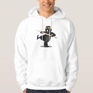 Animation Ninja Beaver (title) Hoodie