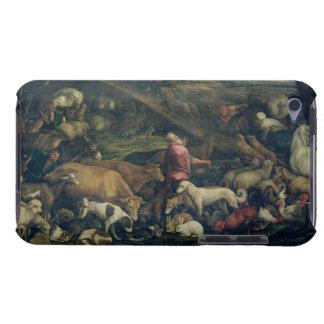 Animaux entrant dans l'arche (huile sur la toile) coque Case-Mate iPod touch