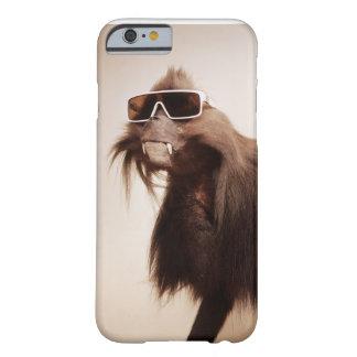 Animaux frais dans des lunettes de soleil coque barely there iPhone 6