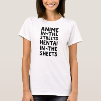 Anime and hentai T-Shirt