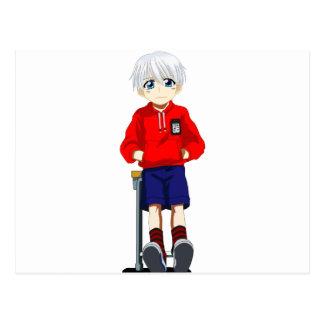 Anime Boy Postcard