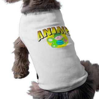 Anime Butterfly Dog Tee Shirt