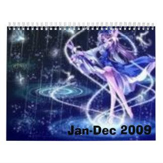 anime calender calendars
