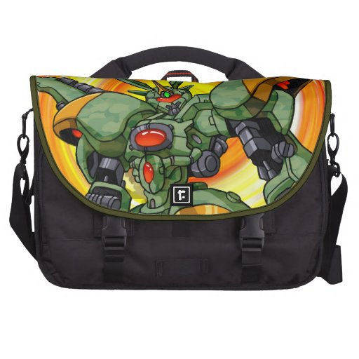Anime Camo Robot Commuter Bags