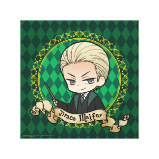 Anime Draco Malfoy Canvas Print