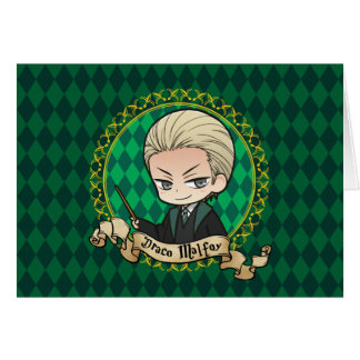 Anime Draco Malfoy Card