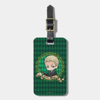 Anime Draco Malfoy Luggage Tag
