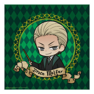 Anime Draco Malfoy Poster