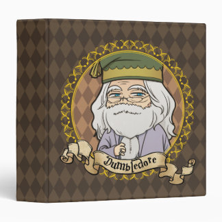 Anime Dumbledore 3 Ring Binders