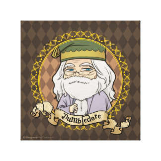 Anime Dumbledore Canvas Print
