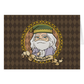 Anime Dumbledore Card