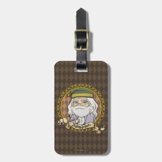 Anime Dumbledore Luggage Tag