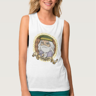 Anime Dumbledore Portrait Tank Top