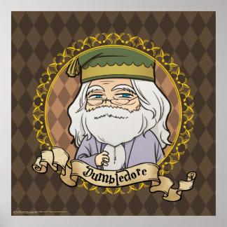 Anime Dumbledore Poster