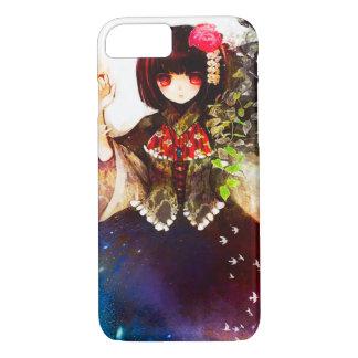 Anime Fantasy Spirit Girl Watercolor Art iPhone 7 Case