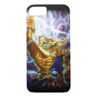 Anime Fantasy Zeus Warrior Custom Dark iPhone iPhone 7 Case