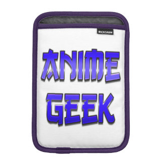 Anime Geek Blue iPad Mini Sleeves
