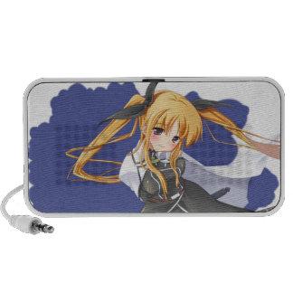 Anime Girl iPod Speakers