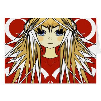 Anime Girls Card