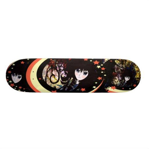 Anime Girls - Custom Skateboard