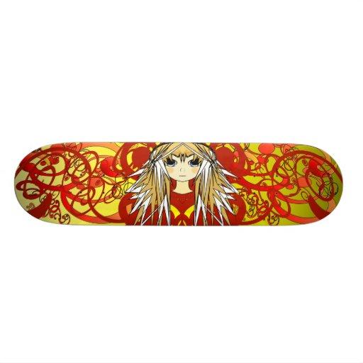 Anime Girls Skate Deck