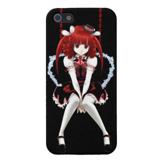 Anime Gothic Lolita - On Black iPhone 5/5S Cases