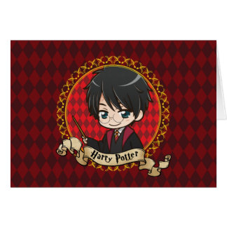 Anime Harry Potter Card
