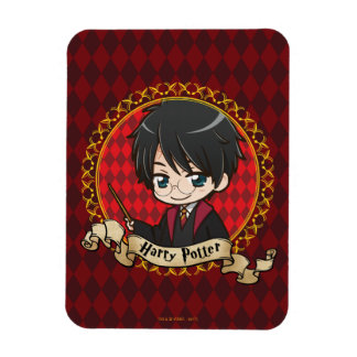 Anime Harry Potter Magnet