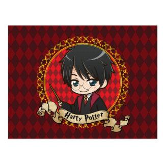 Anime Harry Potter Postcard