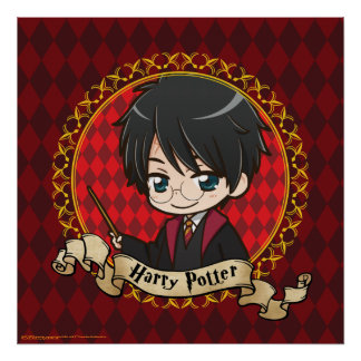 Anime Harry Potter Poster