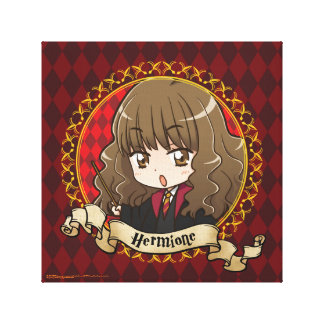 Anime Hermione Granger Canvas Print
