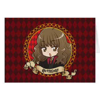 Anime Hermione Granger Card