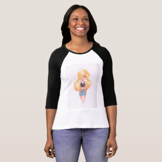 Anime illustration shirt