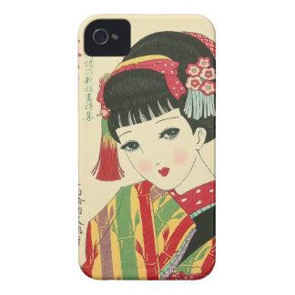 Anime Japanese Beauty Blackberry Bold Case-Mate C Blackberry Cases