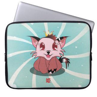 Anime Kitty - Hime, laptop Sleeve