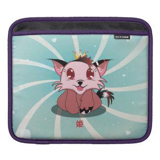 Anime Kitty - Hime, Rickshaw Sleeve Sleeve For iPads