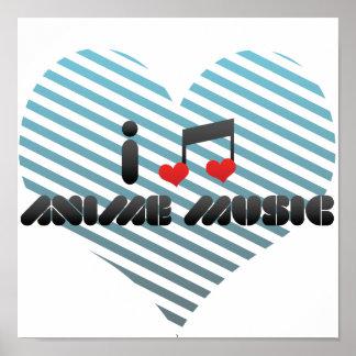 Anime Music Poster