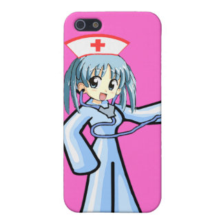 Anime Nurse with Stethoscope Case For iPhone 5