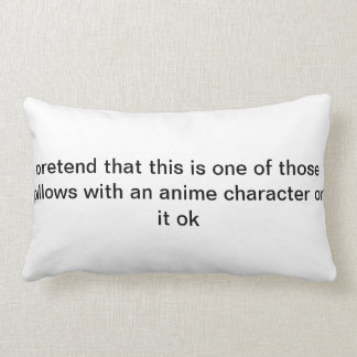 anime pillow