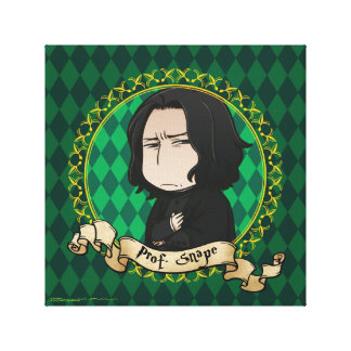 Anime Professor Snape Canvas Print