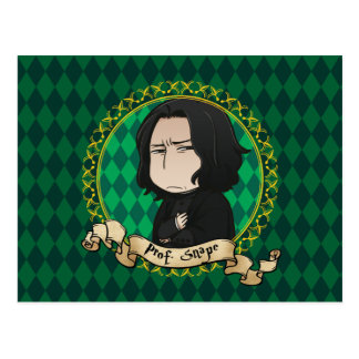 Anime Professor Snape Postcard