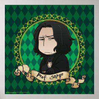 Anime Professor Snape Poster