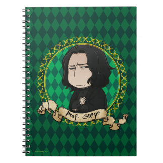 Anime Professor Snape Spiral Notebook