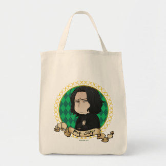 Anime Professor Snape Tote Bag