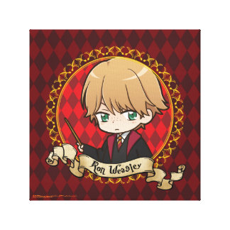 Anime Ron Weasley Canvas Print