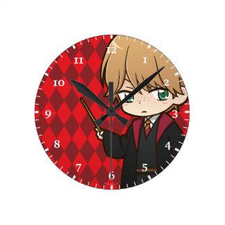 Anime Ron Weasley Clocks