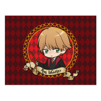 Anime Ron Weasley Postcard